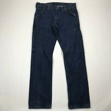 Levi's 514 Men Straight Fit Cinch Back Medium Wash Jeans sz 34x34