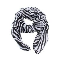 Fashion Women Lady Long Printed Zebra Chiffon Neck Scarf Scarves Wrap Soft