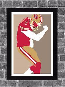 San Francisco 49ers Colin Kaepernick Portrait Sports Print Art 11x17