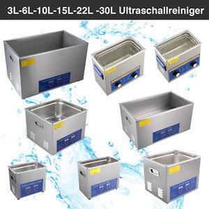 3L 6L 40L 15L 22L 30L Edelstahl Ultraschallreiniger Ultraschall Reinigungsgerät
