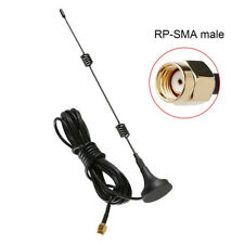 Base 9DBI 2.4GHz Signal Range Booster WLAN Router RP-SMA Male Wifi Antenna