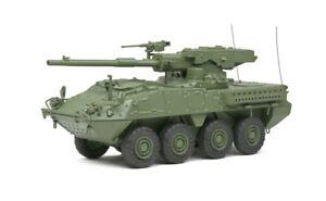 Solido S4800201 - 1/48 M1128 MGS Stryker - Green Camo - 2002 - Diecast Model