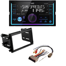 JVC Double Din DVD CD Player Car Radio Install Mount Kit Harness Bluetooth