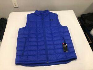 NWT $90.00 Under Armour Mens Coldgear Armour Insulated Vest Blue Size 3XL