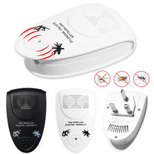 Whole House Fly Mouse Mice Spider Insect Ultra Sonic UK Plug In Pest Repeller