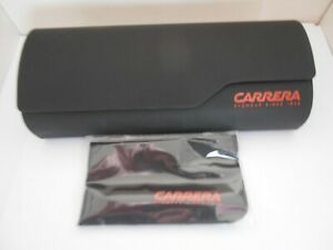 Carrera Glasses/Sunglasses case new with cleaning cloth