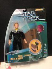 Star Trek Chief Miles O'Brien Galactic Gear Warp Factor Series 2 Action Figure