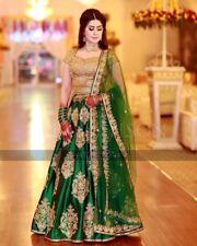 Sale Item  Last 3 Pieces Wedding  Indian Saree Sari Bollywood Ethnic Lehenga