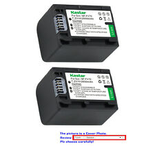 Kastar Replacement Battery for Sony NP-FV70 & Sony FDR-AX33 FDR-AX53 NEX-VG10