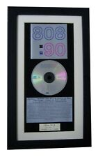 808 STATE 90 CLASSIC CD Album GALLERY QUALITY FRAMED+EXPRESS GLOBAL SHIP+PACIFIC
