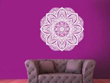 Wall Decal Vinyl Sticker Mandala Ornament Ganesh Indidan Geometric r1074