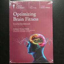 Optimizing Brain Fitness Health DVD Booklet Professor Richard Restak NEW SEALED