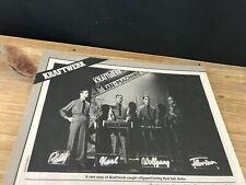 1981 VINTAGE 2 PAGE MAGAZINE PRINT ARTICLE ON KRAFTWERK+FLORIAN SCHNEIDER+HUTTER