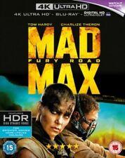 MAD MAX FURY ROAD ULTRA HD 4K BLU RAY