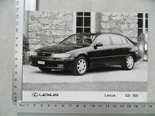 Foto Fotografie photo photograph LEXUS GS 300 SR220