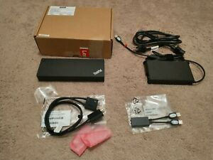Lenovo Thinkpad Thunderbolt 3 40ANY230US 230W Dock 40AN - DK1841 w/ Box WARRANTY