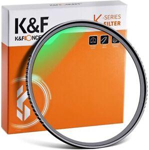 K&F Concept UV Lens Filter Protection 37/40.5/43/46/49/52/55/58/62/67/72/77/82mm