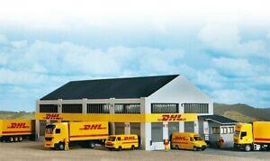 Faller 130981 - DHL Logistic Centre Plastic Kit H0/00 Gauge