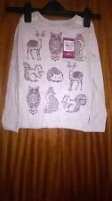 TU girls top, for 6yrs,new with tag, grey-pinky,new with tag
