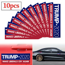10 Pack Donald Trump Car Bumper Stickers 2020 Make Liberals Cry Again