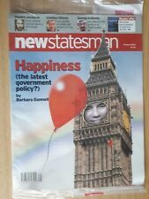 NEW STATESMAN MAGAZINE FOR AUGUST 5 2002 SEALED IN ORIGINAL POSTAGE BAG & UNREAD