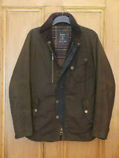 rare £379 Mens Barbour Dept B Cassells olive waxed jacket Small 34 36 XS Tokito