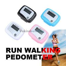 New Useful LCD Pedometer Step Walking Distance Calorie Counter Jogging Running