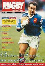 RUGBY No 948 Jan 1995 OFFICIAL MAGAZINE OF THE FFR - FRANCE