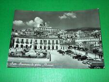 Cartolina Patti ( Messina ) - Panorama da Piazza Marconi 1958