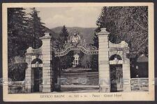 TRENTO LEVICO TERME 43 BAGNI - HOTEL ALBERGO Cartolina viaggiata 1955