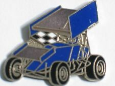 Wing Sprint Navy Blue Racing car Lapel Racing Pin , (** lg bd)