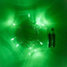 Tiras de luces de interior de color principal verde de cocina