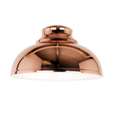 Shabby Chic Copper Dome Light shade Light Pendant New Vintage