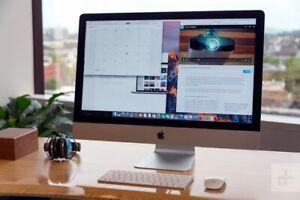 "Apple iMac 27"" Retina 5K Display 2015 Core i5, 32GB,1TB SSD R9 2GB GFX Boxed"
