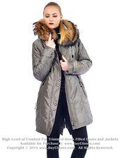 `` Parka Puffer Coat Jacket w/ Raccoon Fur sz M / US 8 / EU 40 Пуховик Mex Енот