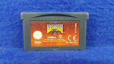 Gameboy Advance **DOOM II 2 Authentic Game Boy Cart GBA PAL UK
