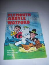 FA Cup Plymouth Argyle Teams O-R Football Programmes