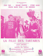 ▬►1962 Synopsis LA FILLE DES TARTARES Yoko Tani_Ettore Manni_Roland Lesaffre