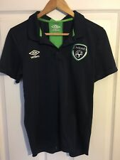 2014/2015 Republic of Ireland polo football shirt Umbro small men's rare