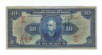 10 Mil Reis Brasilien 1942 R110d / P.39c - Brazil Banknote