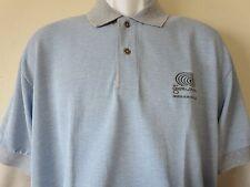 DRUIDS GLEN GOLF CLUB Blue Polo Shirt Small Dublin Ireland Ashworth Golf New