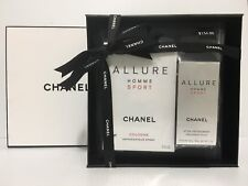 ALLURE HOMME SPORT MEN COLOGNE 2 PC GIFT SET 5.0 oz + 2.0 DEO SEALED IN BOX