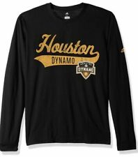 Adidas Men's Houston Dynamo Tail Stack Tri Blend Soccer Jersey Shirt XL MLS