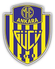 Ankaragucu Fc Turkey Soccer Football Car Bumper Sticker Decal 4 X 5