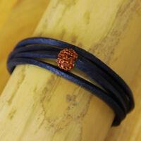 Surferarmband Lederarmband Armband Wickelarmband Herren Damenarmband Shiva Goa