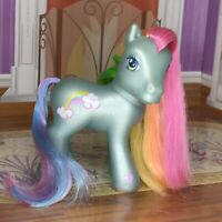 My Little Pony 2002 Rainbow Dash II - G3 - Hasbro MLP pearlescent