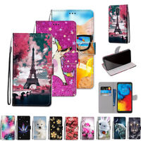 For LG Stylo 4/Stylo 5 Luxury Leather Flip Wallet Card Slot Phone Case Cover