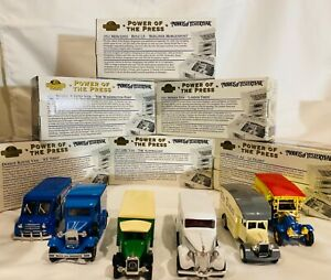 Matchbox Power Of The Press Complete Set Of 6 1:43 1995 Made