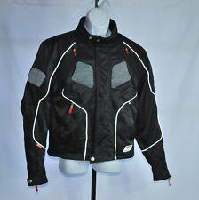 Harley Davidson Black Padded Motorcycle Jacket Men's Sz L