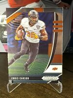 2020 Panini Prizm Draft Picks Chris Carson Base. OSU Cowboys / Seattle Seahawks